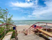 Спуск на пляж